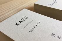 KAZU passant 名刺