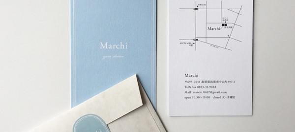 Marchiショップカード、シール