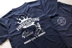 坂東市消防団第4分団 Tシャツ