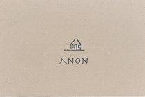 ANON名刺メニュー表デザイン
