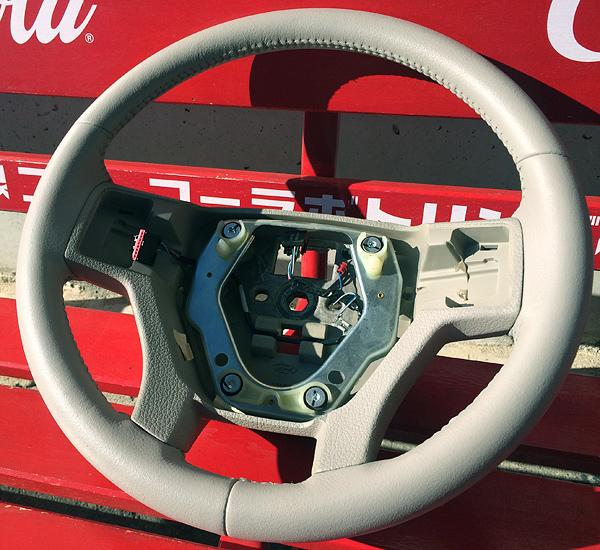 フォード ステアリング補修