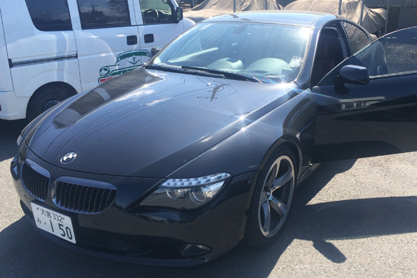 BMWレザーシート修理
