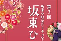 坂東ひな飾り展 ポスター、フライヤー