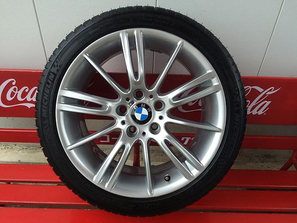 BMW ハイパーシルバーホイールリペア