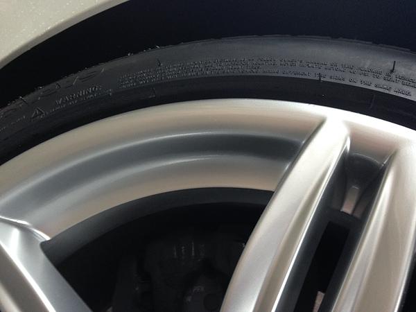 BMW 640i Mスポーツ ハイパーシルバーホイール補修後
