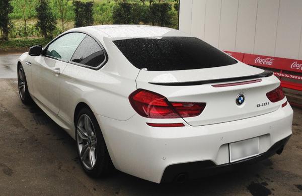BMW 640i Mスポーツ ハイパーシルバーホイール補修
