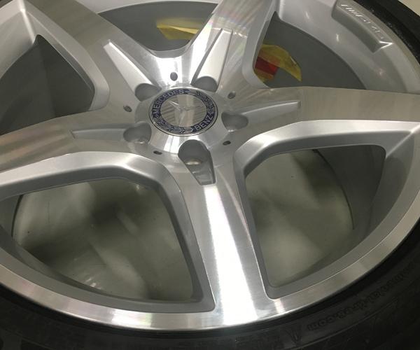 ベンツ SL550 ダイヤモンドカット ホイールリペア